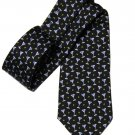 Brooks Brothers Country Club Martini Olives Pattern Tie Italian Silk Black Blue Gray Green Men's
