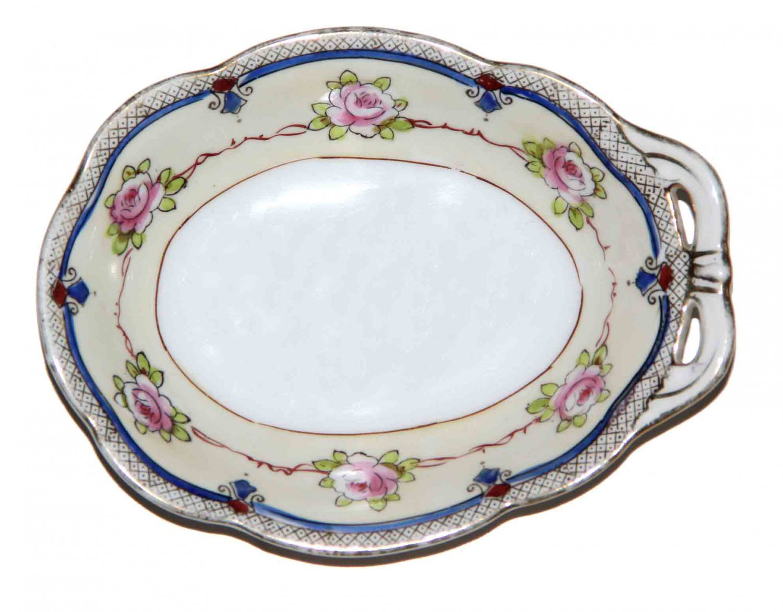 Vintage Noritake Japan Porcelain Dish Floral 6.25 X 4.75