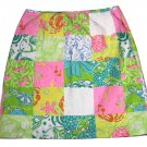 Lilly Pulitzer Skirt Cotton Multicolor Women's Size 4