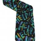 Vintage Beatles Neck Tie Silk HELP Text Manhattan Menswear Group Men's