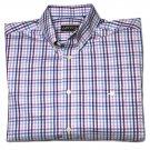 Orvis Shirt Button-Down Window Pane Pattern Men's Size Medium
