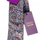 Gianni Feraud Liberty of London Tie Paisley Cotton Men's Narrow Classic