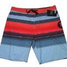 Hurley Swim Trunks Phantom Gaviota Board Shorts Striped Men's Size 32