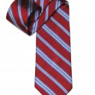 Brooks Brothers English Silk Tie Striped Red Blue White Men's