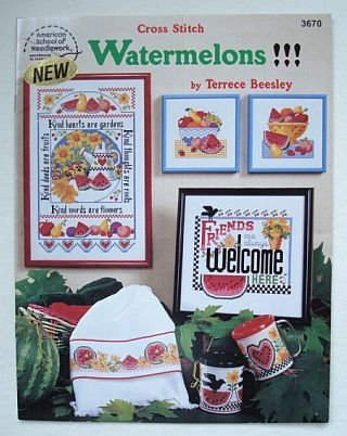 Watermelons Cross Stitch Booklet by Terrece Beesley
