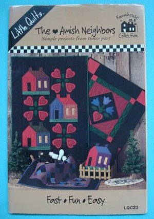 The Amish Neighbors Little Quilts Patterns