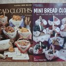 2 Bread Cloth Cross Stitch Leaflets Mini Bread Cloths