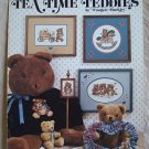 Tea Time Teddies Cross Stitch Bear Patterns Leaflet