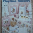 Playtime Nursery Cross Stitch Pattern Teddy Bear Booklet