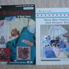 More Be-Loved Sweats & Sweat Shirt Stitchery Cross Stitch Pattern Booklets