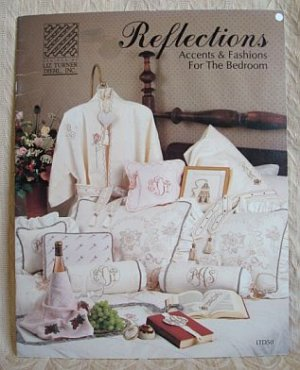 Reflections Accents & Fashions For The Bedroom Cross Stitch Pattern Booklet