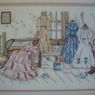 In The Garret Victorian Cross Stitch Pattern Leaflet #885
