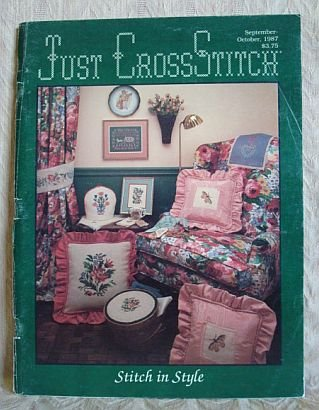 Just Cross Stitch Magazine September October 1987