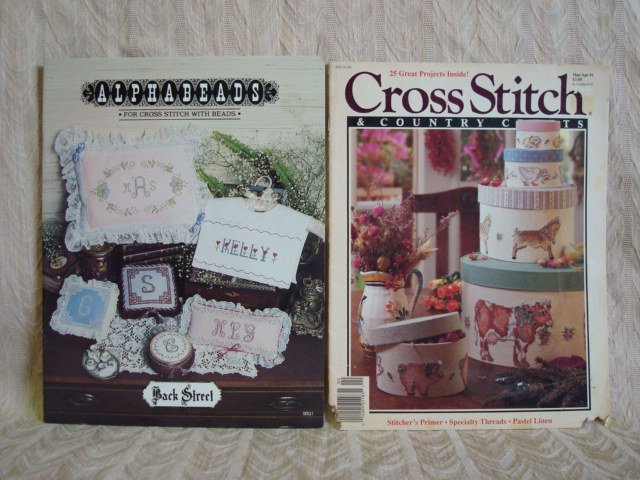 Alphabeads & Cross Stitch Country Crafts Patterns Magazine