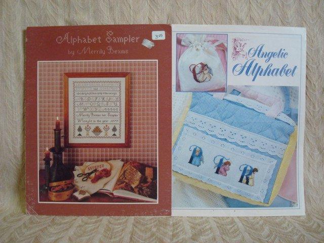 Alphabet Sampler & Angelic Alphabet Angels Cross Stitch Patterns