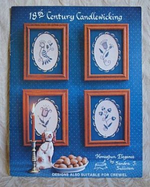 18th Century Candlewicking Pattern Booklet