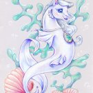 Princess Tiffany Sea Pony Giclee Art Print (A4) *Limited Edition*