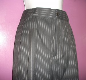 PRADA MUI-MUI BAGGIE STRAIGHT LEG 100% COTTON PANTS/SLACKS Sz 48