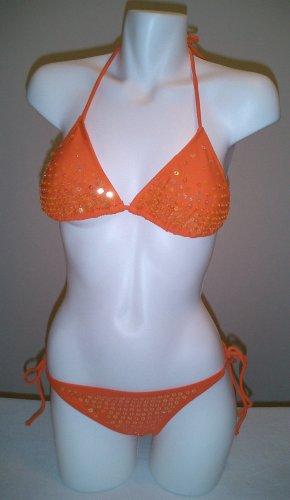 Orange Disco Bikini