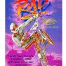 RAD Film On DVD (1986) Special Edition - Classic BMX Movie + 2 Bonus BMX Shows - Bill Allen