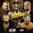 Full Gear - All Elite Wrestling DVD - AEW -  Adam Page - Pac - Shawn Spears - Joey Janela