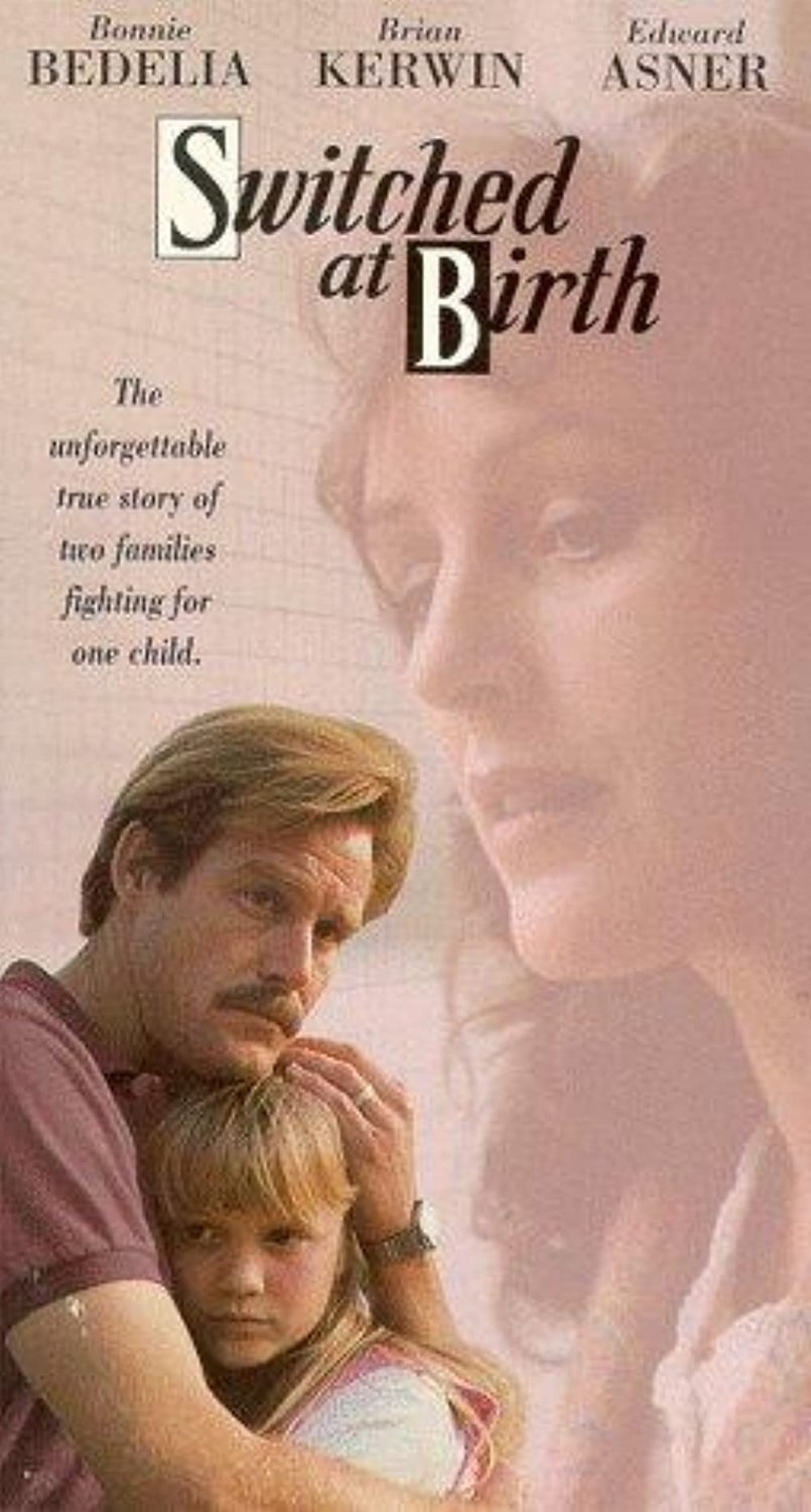 Switched At Birth DVD (1991) Bonnie Bedelia - Brian Kerwin