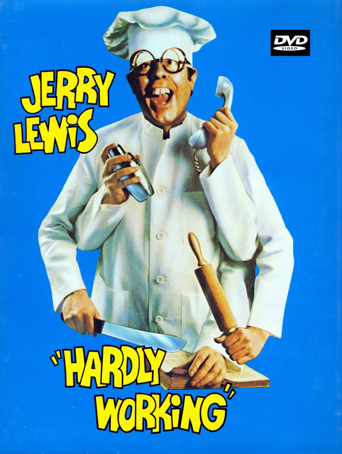 Hardly Working DVD (1980) Jerry Lewis / Susan Oliver - Classic Comedy Film