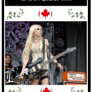 The Pretty Reckless DVD - Live In Quebec, Canada - Taylor Momsen