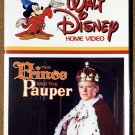 The Prince and the Pauper DVD - Classic 1962 Disney Film - Sean Scully - Guy Williams