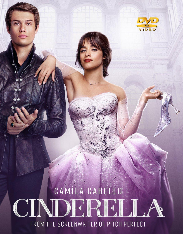 Cinderella DVD (2021 Film) Camila Cabello - Idina Menzel - Pierce Brosnan