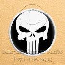 6 Inch Long Handmade Custom Mosaic Pin Inlay Punisher Skull Knife and Jewellery Making - MCC023