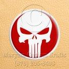 6 Inch Long Handmade Custom Mosaic Pin Inlay Punisher Skull Knife and Jewellery Making - MCC024