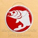 12mm x 6 Inch Long Handmade Custom Mosaic Pin Inlay Fish Knife and Jewellery Making - MCC006