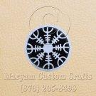 12mm x 6 Inch Long Handmade Custom Mosaic Pin Inlay Nordic Knife and Jewellery Making - MCC017