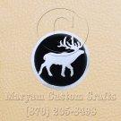 6 Inch Long Handmade Custom Mosaic Pin Inlay Deer Knife and Jewellery Making - MCC027