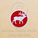 6 Inch Long Handmade Custom Mosaic Pin Inlay Deer Knife and Jewellery Making - MCC028
