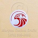 6 Inch Long Handmade Custom Mosaic Pin Inlay Eagle Knife and Jewellery Making - MCC034