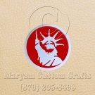 6 Inch Long Handmade Custom Mosaic Pin Inlay NY Liberty Knife and Jewellery Making - MCC038