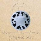 6 Inch Long Handmade Custom Mosaic Pin Inlay Texas Knife and Jewellery Making - MCC041
