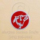 6 Inch Long Handmade Custom Mosaic Pin Inlay Wolf Knife and Jewellery Making - MCC044