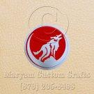 6 Inch Long Handmade Custom Mosaic Pin Inlay Wolf Knife and Jewellery Making - MCC046