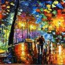 Large Hand painted Night fantasy by Leonid Afremov