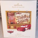 2007 Hallmark Picture Frame Ornament ~ He's # 1 Disney Pixar Cars Lightning McQueen