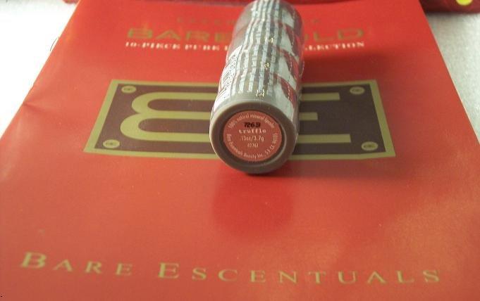 Bare Escentuals Minerals TRUFFLE LIPSTICK New Lipcolor Formula