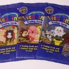 Webkinz Set of 3 Packs Trading Cards Sealed Series 2 New Release