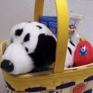 Sports Birthday Easter Wood Gift Basket Webkinz Dalmation Trading Cards Card Album