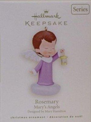 2008 Hallmark Mary's Angels Rosemary Ornament 21st Series MIMB Mary Hamilton