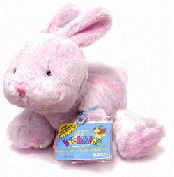 Webkinz New Sherbet Bunny Seasonal NWT Sealed Unused Code Tag HM134