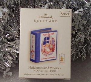 2008 Hallmark Heffalumps and Woozles Winnie the Pooh Book Series # 11 Ornament