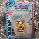 Webkinz Brand New Have a Wacky Christmas Zingoz Ornament WE000436 Sealed Code